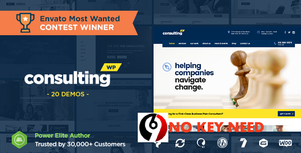 How to Remove Key for Consulting Business Finance WordPress