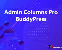 Admin Columns Pro BuddyPress