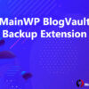 MainWP BlogVault Backup Extension