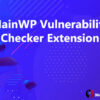 MainWP Vulnerability Checker Extension