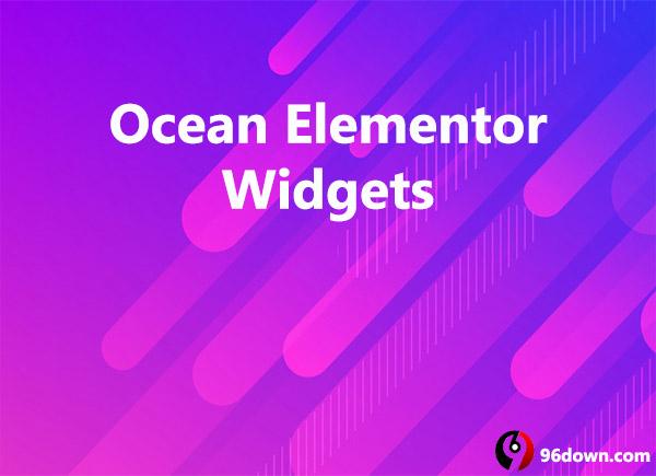 Ocean Elementor Widgets Download - 96Down Com