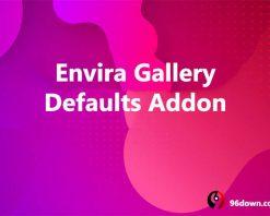 Envira Gallery Defaults Addon