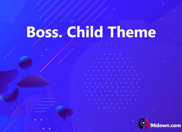 Boss. Child Theme