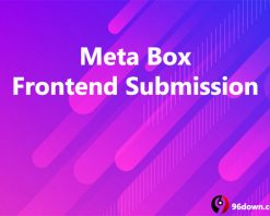 Meta Box Frontend Submission
