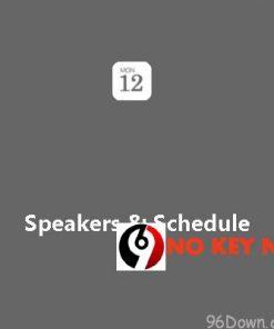 EventON Speakers Schedule